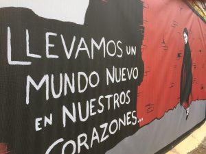 Un mural en homenaje a Robert Capa