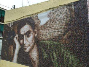 Mural en homenaje a Robert Capa
