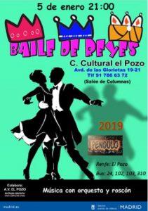 Un tradicional Baile de Reyes culmina esta noche mágica