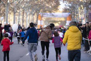 Correr para divertirse, el objetivo de los atletas más pequeños