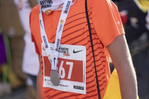 La carrera mini no tuvo carácter competitivo y todos recibieron su medalla