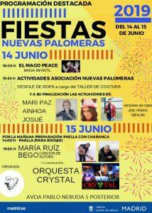 Fiestas de Nuevas Palomeras 2019