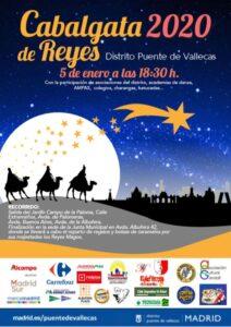 Cartel de la Cabalgata de Reyes