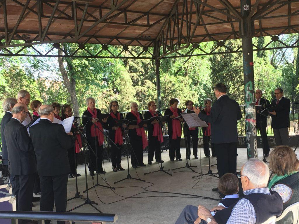 Asociación Coro Mukalendi, sábado 26 de mayo en el Templete Parque Roma