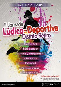 Jornada Deportiva del Distrito Retiro