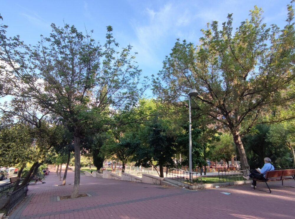 Jardín María de la Concepción Arias y Arimón. Distrito Retiro