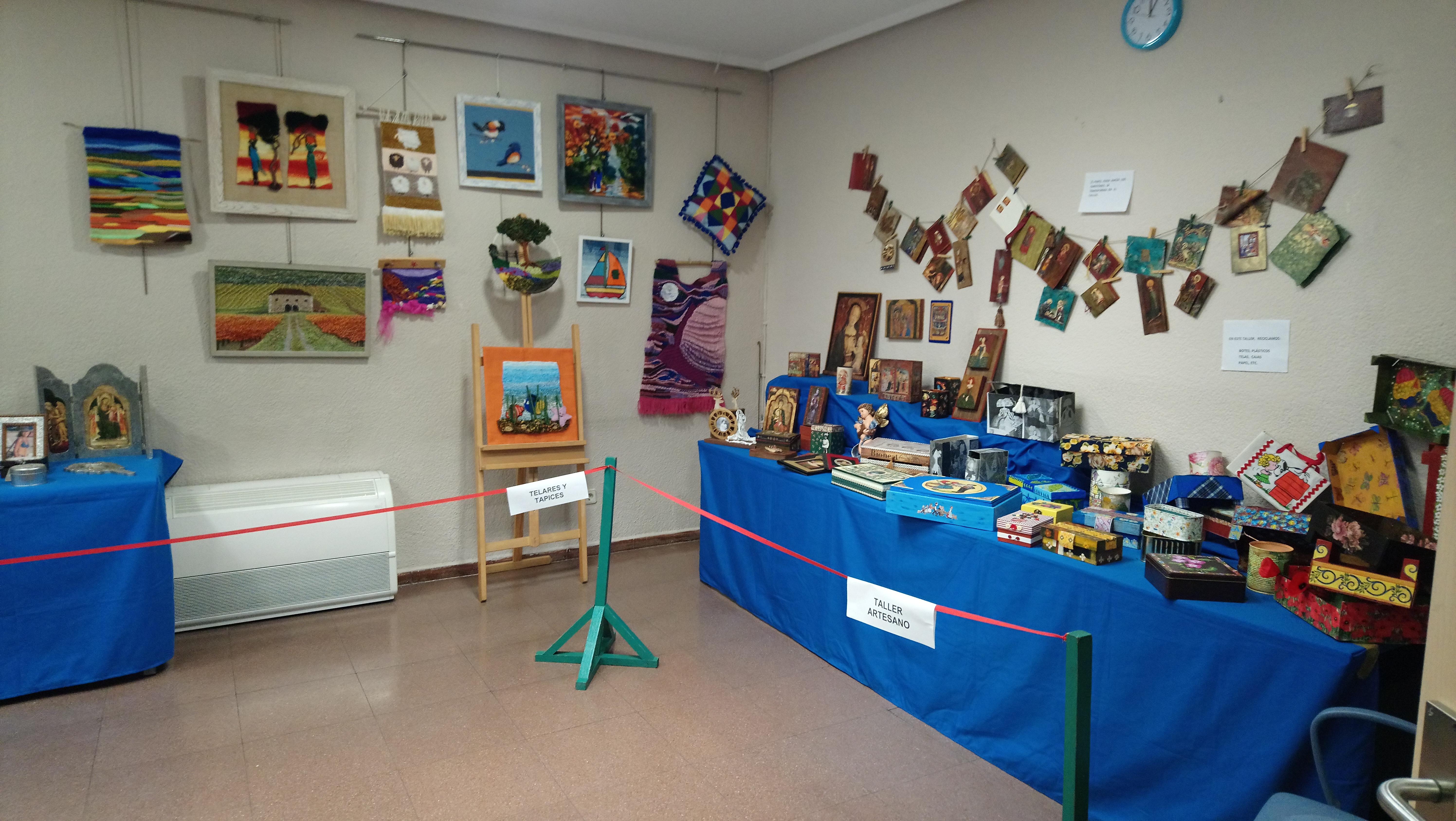 Exposición de talleres Centro Sociocultural Maestro Alonso