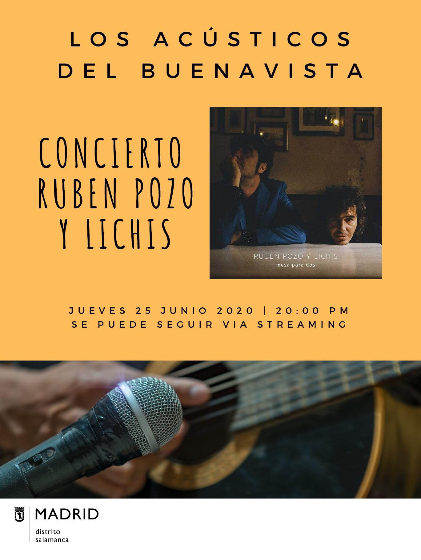 concierto de Rubén Pozo y Lichis