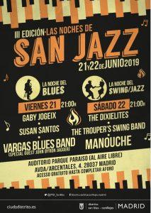 Las Noches de San Jazz 2019