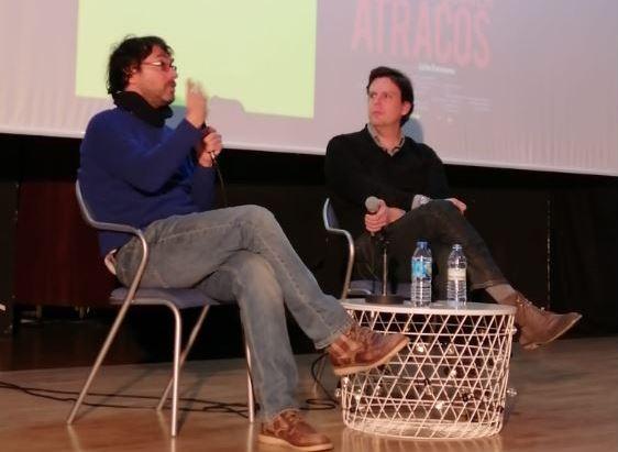 Coloquio de «Apuntes para una película de atracos» con su director Elías León Siminiani.
