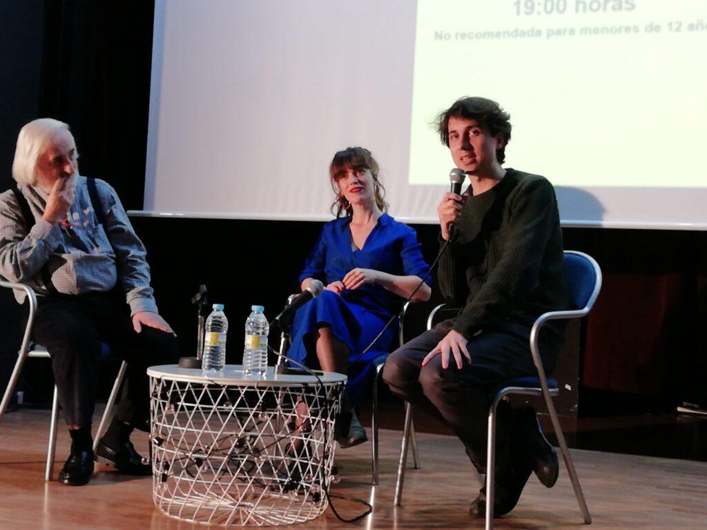 Coloquio de «La Virgen de Agosto», con su director Jonás Truena y protagonista Itsaso Arana.