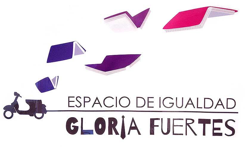 logotipo Espacio de Igualdad Gloria Fuertes de Vicálvaro