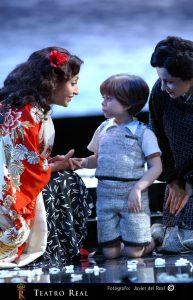 detalle Madama Butterfly del Teatro Real, foto: Javier del Real