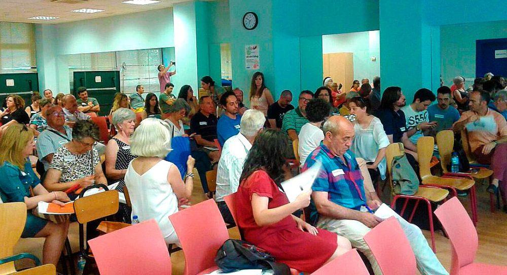 Asamblea Foro Local Vicálvaro 9 junio 2017