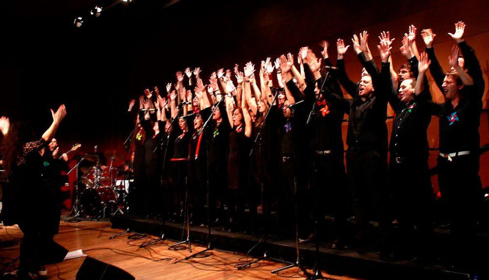 actuación del Coro de gospel UCM