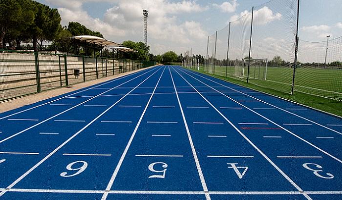 Pista de atletismo del Centro Deportivo Municipal Margot Moles
