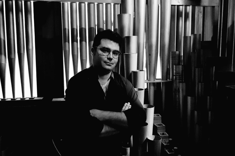 Organista Jesús Ruiz