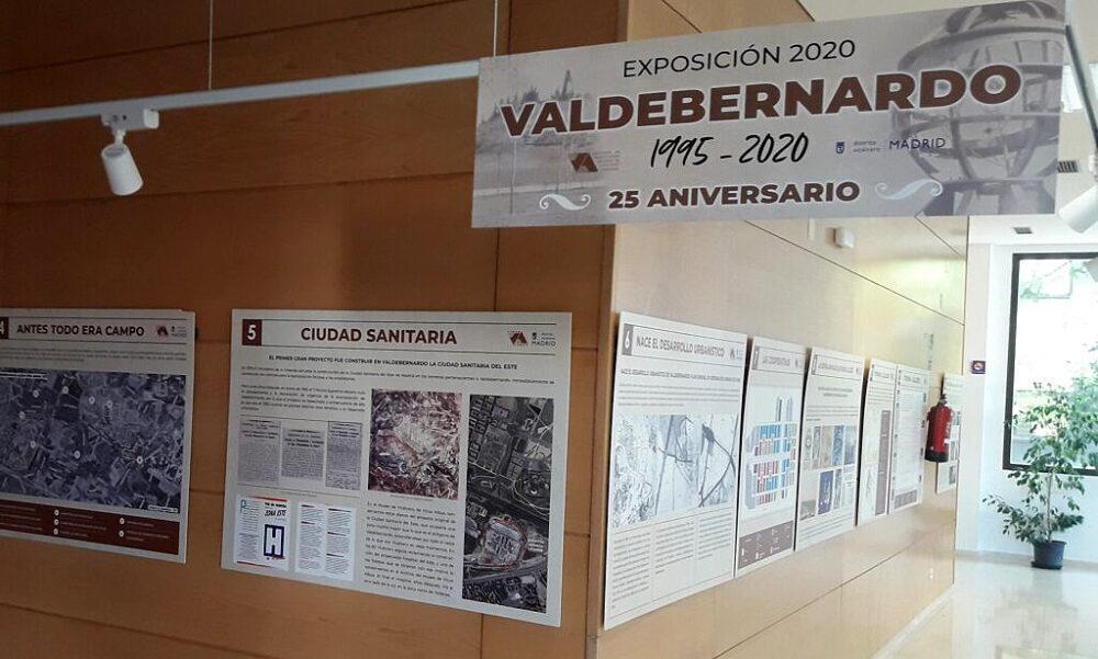 Exposición Vicus Albus en el Centro Cultural Valdebernardo