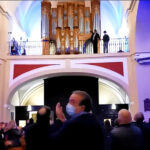 Festival de Órgano de Vicálvaro (aplausos al organista)