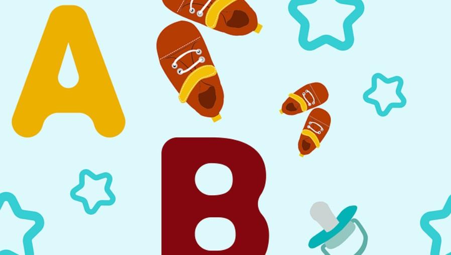 ilustración ABC letras infantiles