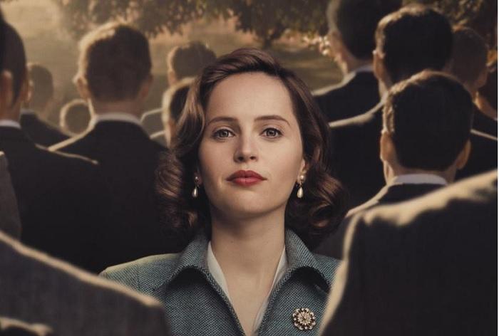 Detalle del cartel de la película Una cuestión de género