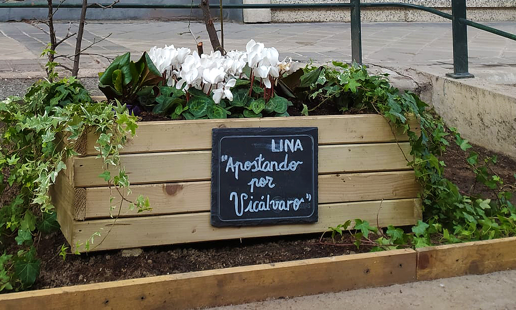Jardinera en Villardondiego. UDC Vicálvaro