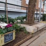 Jardineras en Villardondiego. UDC Vicálvaro