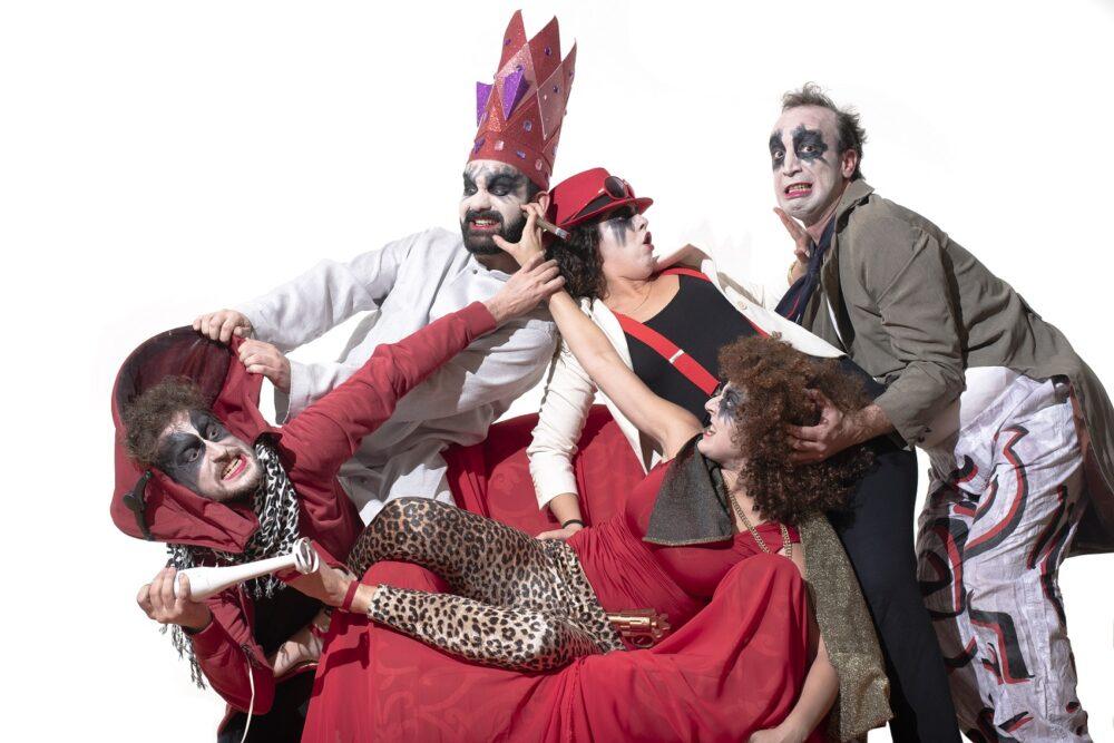 Ubú le Roi. Compañía de Teatro Los Sueños de Fausto