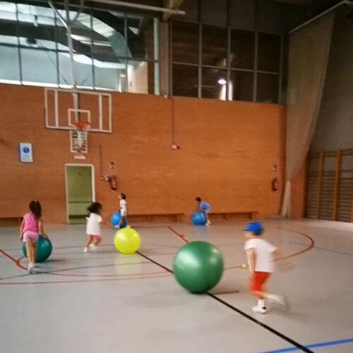 campamentos de verano en el Centro Deportivo Municipal Faustina Valladolid