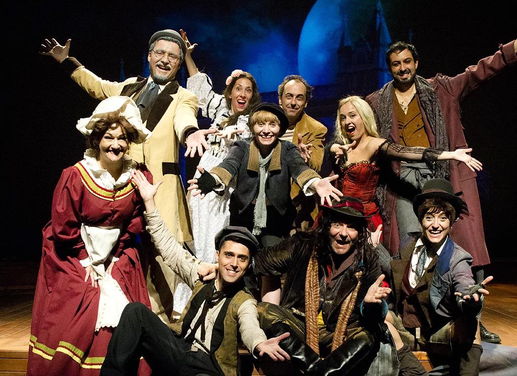 Oliver Twist, el musical, de Cía. Lírica Ibérica (foto: Carlos Bosch)