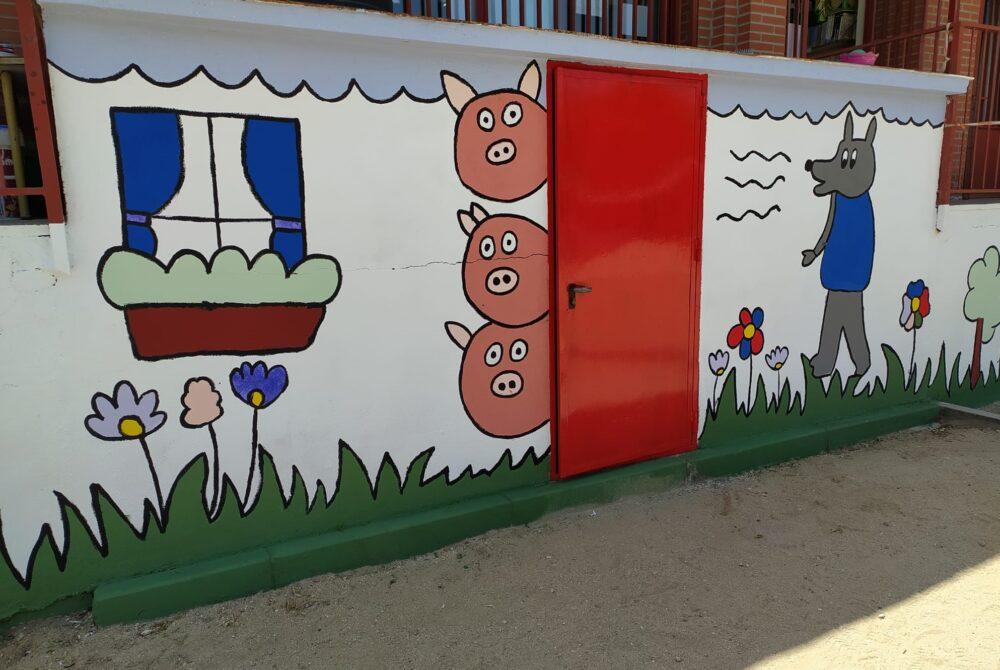 Dinamización artística en el colegio Vicálvaro