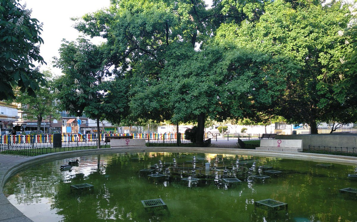 Jardín de las Brigadas Internacionales. Vicálvaro