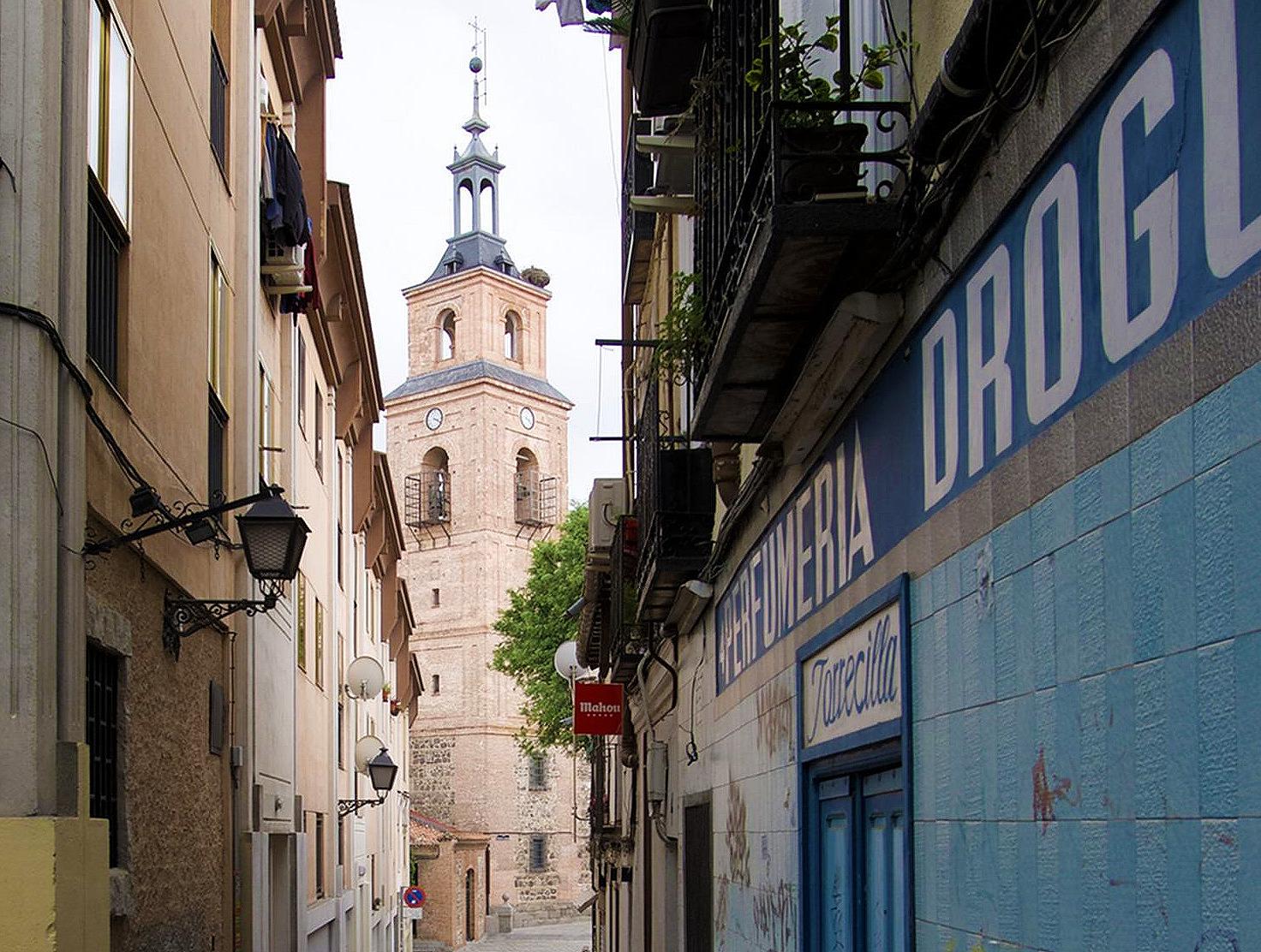 Torre de Santa María la Antigua en Vicálvaro