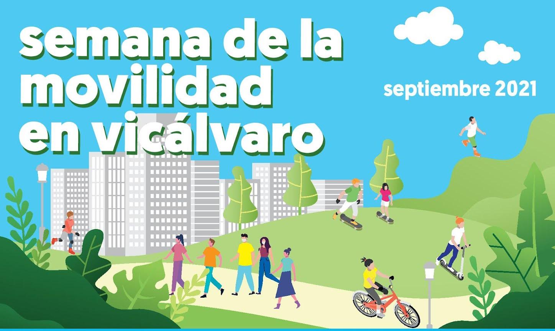 gráfica de la Semana de la Movilidad en Vicálvaro 2021