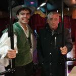 Francisco Pérez Ramos visita el bus - teatro