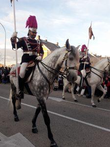 La Policía Municipal acompaña a Sus Majestades los Reyes Magos de Oriente
