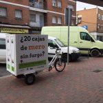 El reparto en bicicleta llega a Vallecas