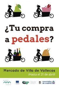 Ciclo-reparto en Villa de Vallecas