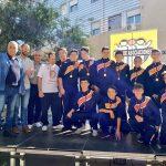 El equipo infantil, campeón de Liga, celebra su triunfo