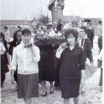Mujeres vallecanas en procesión