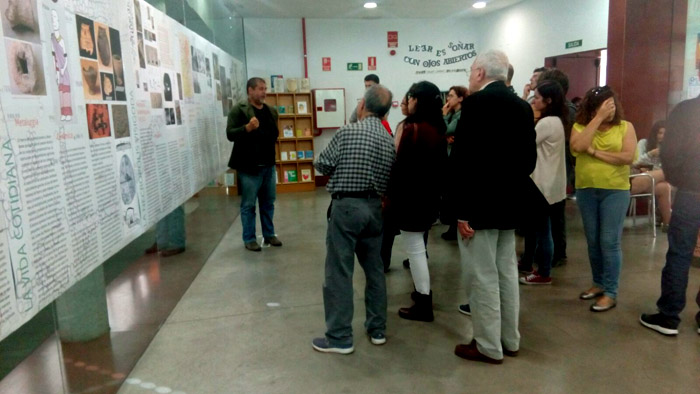 """Inauguración de la muestra """"El poblado carpetano del Cerro de la Gavia"""""""