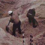 Imagen de los trabajos arqueológicos en el Cerro de La Gavia