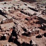 Construcciones encontradas en los trabajos arqueológicos del Cerro de La Gavia