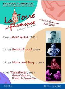 Los sábados del mes de septiembre Villa de Vallecas visita la Torre del Flamenco