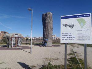 Rocódromo y boulder en el Corredor Deportivo del Ensanche de Vallecas