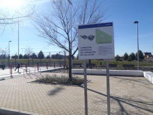 Nuevas instalaciones en el Corredor Deportivo del Ensanche de Vallecas