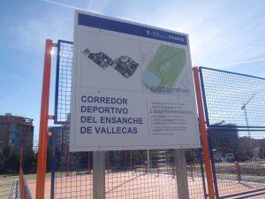 Nuevas pistas deportivas en el Corredor Deportivo del Ensanche de Vallecas