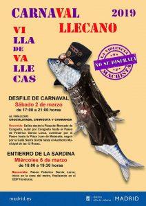 Imagen del Carnaval de Villa de Vallecas 2019