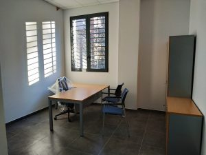 Sala de la escuela de hostelería en el Mercado de Santa Eugenia