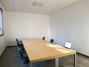 Sala de reuniones de la escuela de hostelería